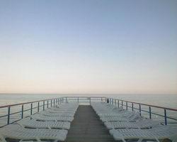 Пляжная перспектива * марина * цифровая фотография