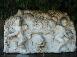 Фонтан с ангелочками * архитектура * цифровая фотография