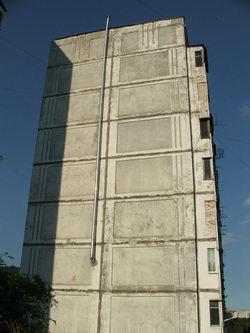 Камин в многоэтажке? * городской пейзаж * цифровая фотография