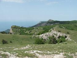 Типичный рельеф Ай-Петринского плато * пейзаж * цифровая фотография