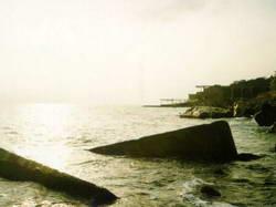 Фотография берега моря в Мисхоре