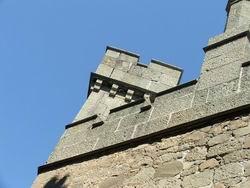 Башни Воронцовского дворца в Алупке * городской пейзаж * цифровая фотография