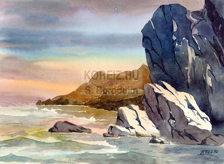 По запросу скалы у морского берега