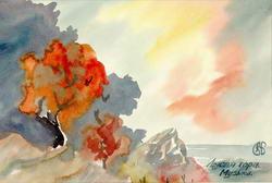 картинка Лысая гора.  Музыка.