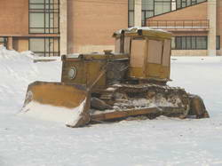 Корабль снежной пустыни * пейзаж * цифровая фотография